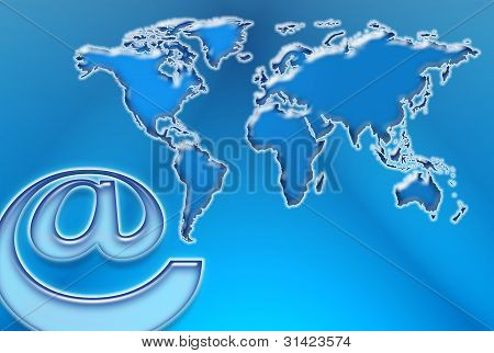 Web And World Map