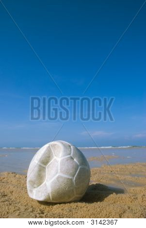 Football On Beach 2