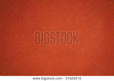 Red Stucco Textured Wall Background
