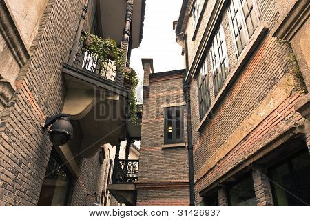 Historic Shanghai Alleyway