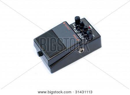 Analog guitar pedal