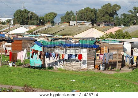 KHAYELITSHA, TOWNSHIP CAPE TOWN SOUTH AFRICA