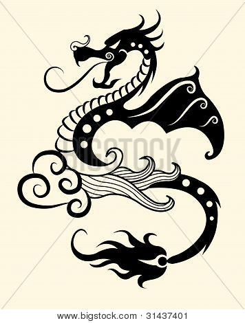 Decorative dragon