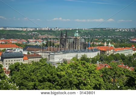 Prague Castle And St-Vitus Cathedral