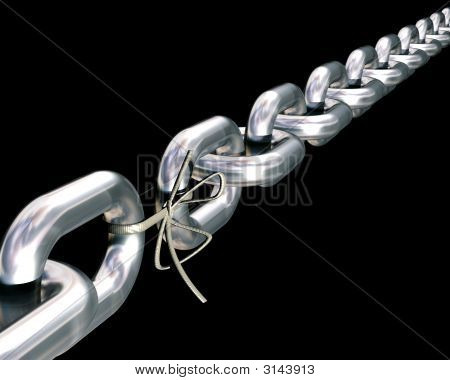 """Chains Are Only As Strong As Their Weakest Link"""
