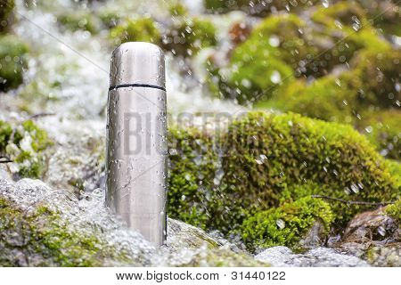 Thermos travel flask