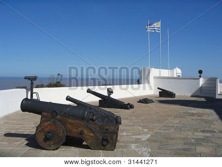Uruguay, Montevideo, strategic Artigas Fort