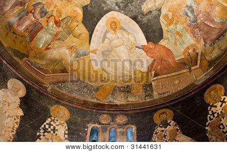 Fresco Of The Chora Church