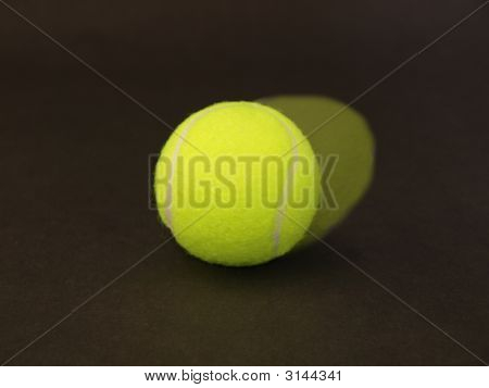 Tennis Ball In Motion