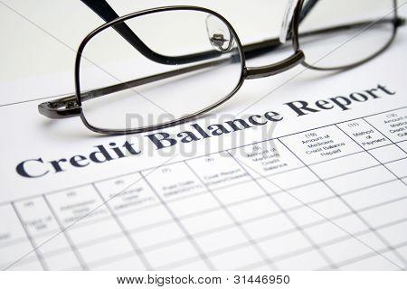 Kreditauskunft Gleichgewicht