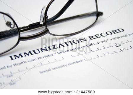 Immunisierung Datensatz