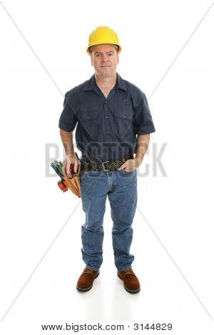 Construction Worker Full Body