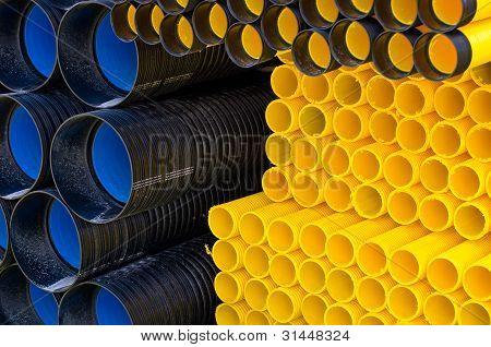 Tubos de plástico