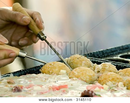 Cocinar comida japonesa
