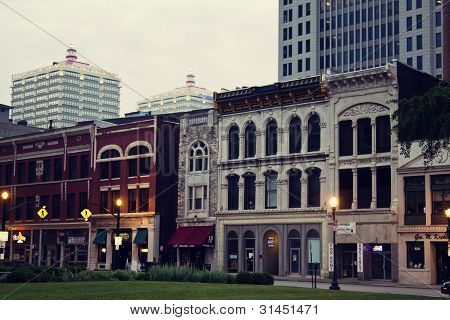 Historic Downtown Of Louisville