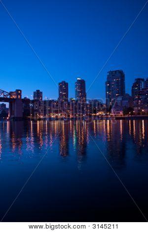 Downtown Night Scene