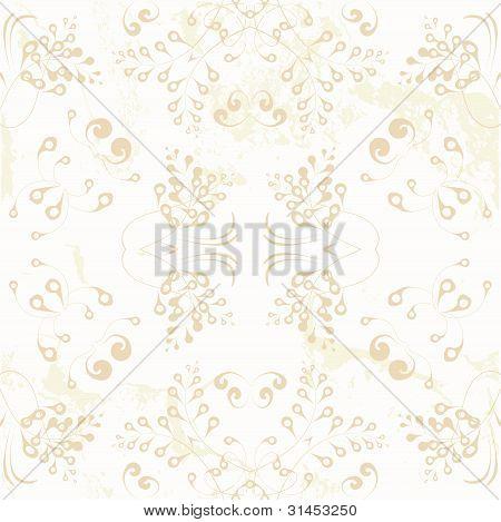 Seamless beautiful ornament wallpaper