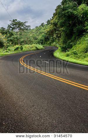 Road curve