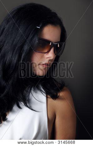 Hispanic Fashion Model