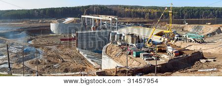 Construction Of Hydropower Plant