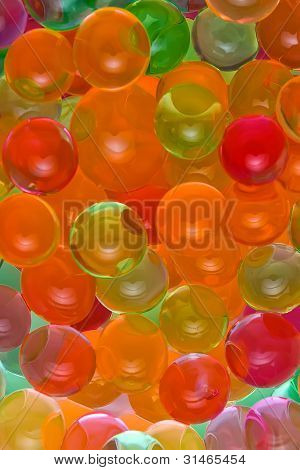 Background, Colorful Balls