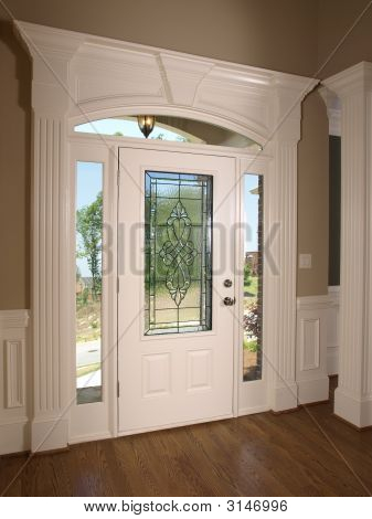 Luxury Model Home Front Door