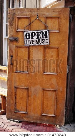 Open Live Music