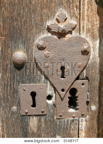 Heart-Shaped Lock