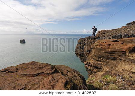 Ocean view In Iceland