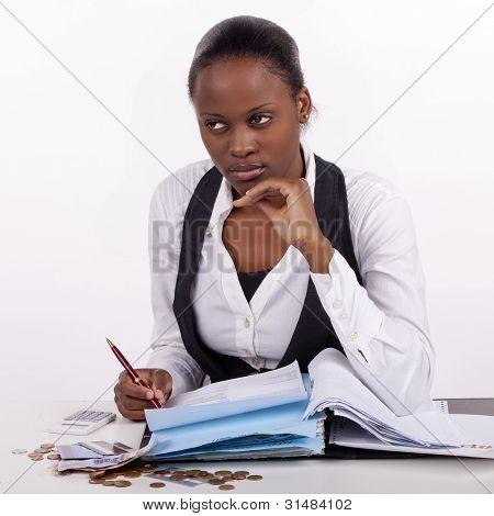Planning her finances