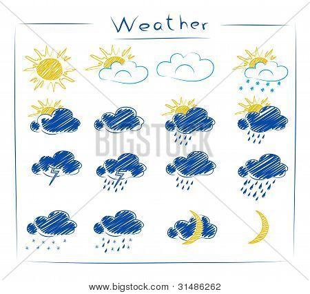 icons - weather set