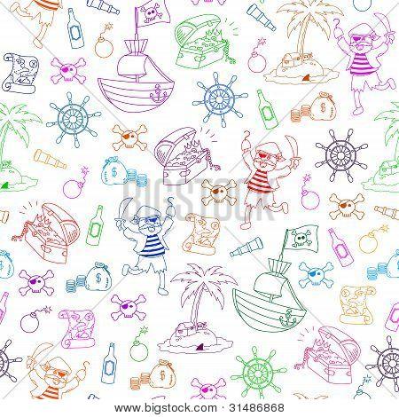 pirates pattern