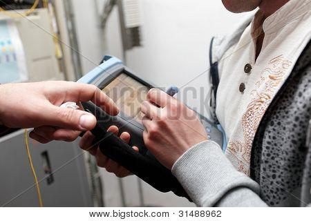 Telekom-Wartung