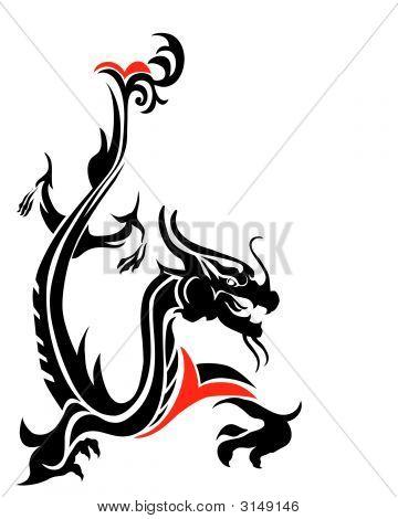 Oriental Dragon.Eps