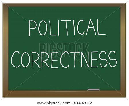 Political Correctness Concept.