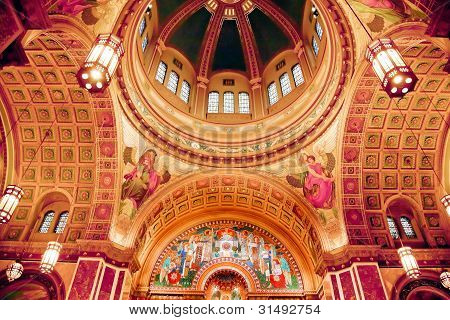 Saint Matthew Cathedral Basilica Dome Washington Dc