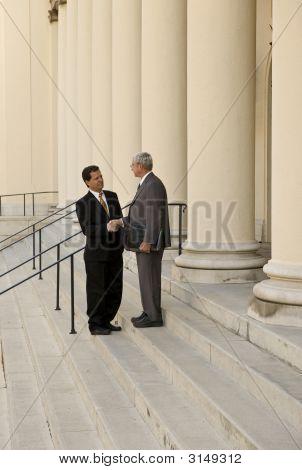Advogado e cliente
