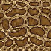 stock photo of anaconda  - Detailed seamless snakeskin pattern referenced from a handbag made of Burmese Python skin - JPG