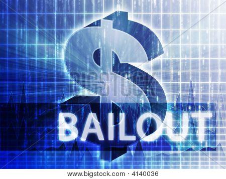 Bailout Finance Illustration