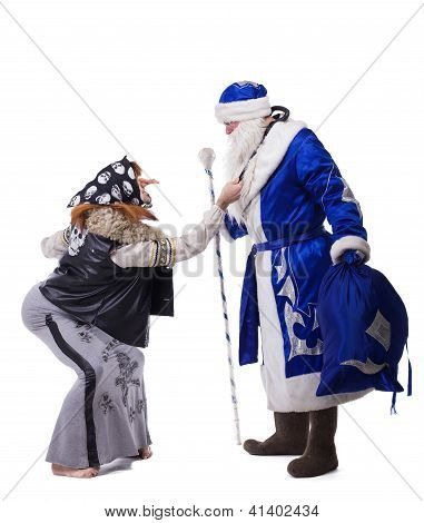 Baba Yaga and Father Christmas