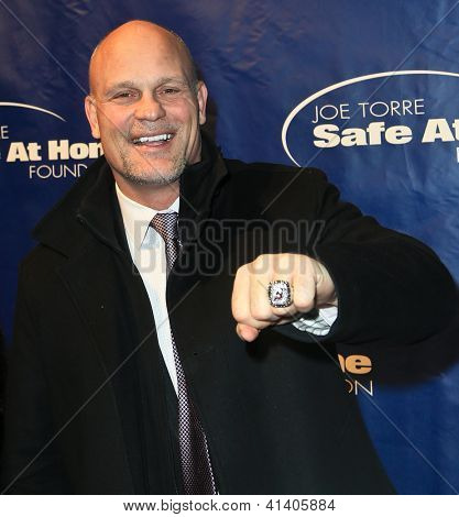 NEW YORK-JAN 24: NHL player Ken Daneyko attends the 10th Anniversary Joe Torre Safe At Home® Foundation Gala at Pier 60, Chelsea Piers on January 24, 2013 in New York City.