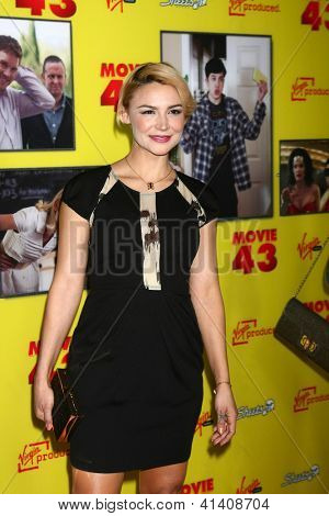 LOS ANGELES - JAN 23: Samaire Armstrong at the
