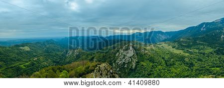View from Montsegur