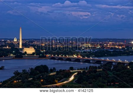 Washington, dc bei Nacht