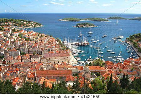 The Old Town of Hvar, Croatia