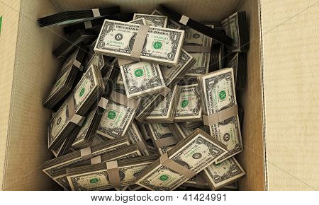 Dollars In A Box