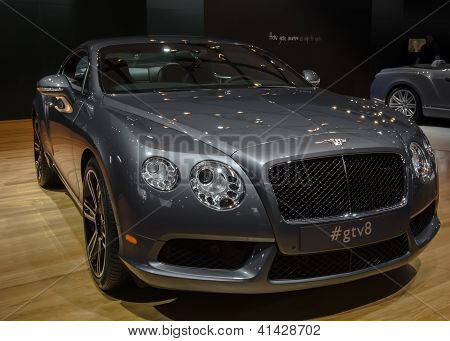 2013 Bentley Continengal GT V8  (gtv8)