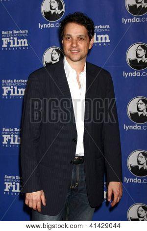 Santa Barbara - JAN 25:  Ralph Macchio arrives at the 2013 SBIFF Modern Masters Award presented to Ben Affleck at Arlington Theater on January 25, 2013 in Santa Barbara, CA