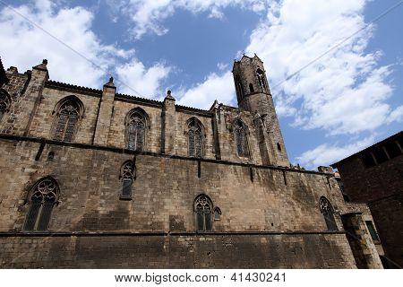 La Seu cathedral in Barcelona