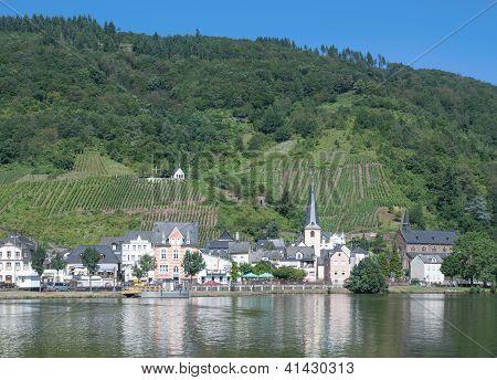 Alf,Mosel River,Germany